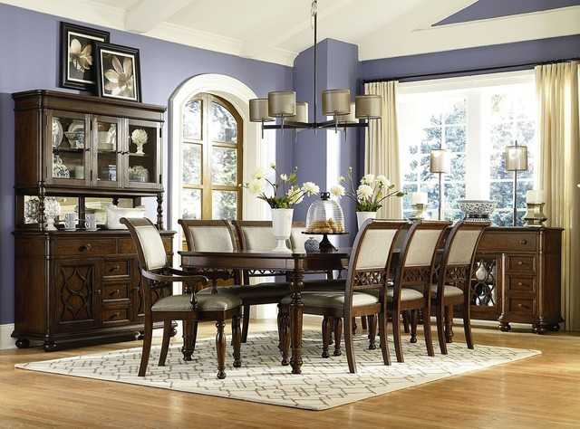 Legacy Classic Thornhill Leg Table Set Traditional Dining Room Orlando