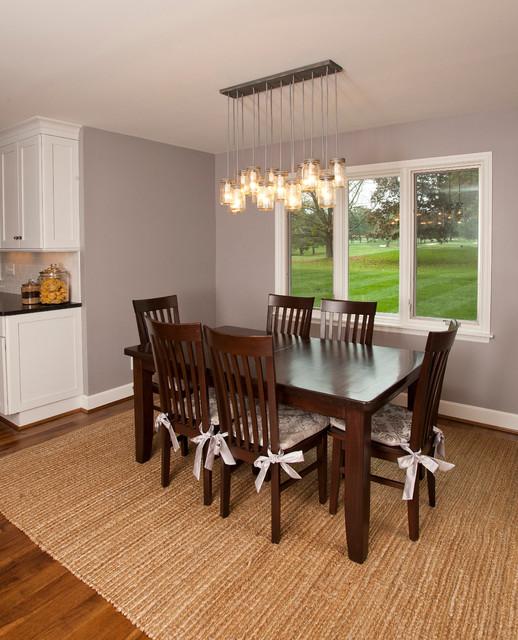 Transitional Dining Room: Lenahan Residence