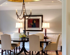 Leslie Hayes Interiors contemporary-dining-room