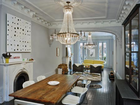 Levenson McDavid Architects eclectic dining room