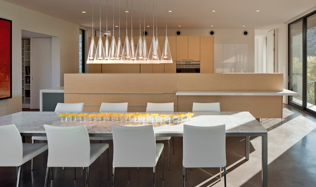Levin Residence modern-dining-room