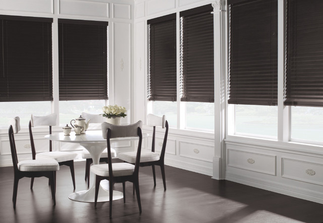 Levolor 2 Premium Wood Blinds From Modern Dining Room