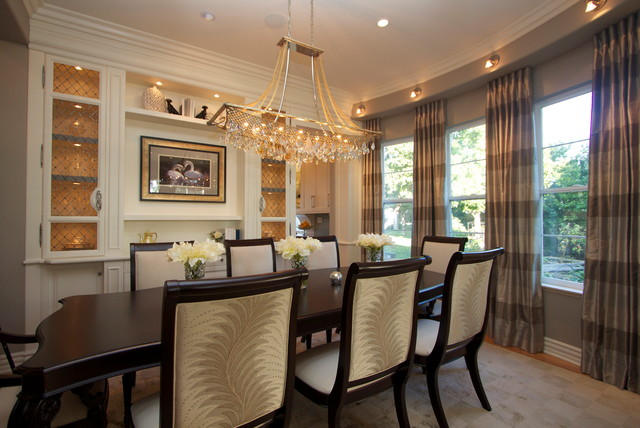 Lighting A Kitchen And Dining Room Contemporary Dining Room
