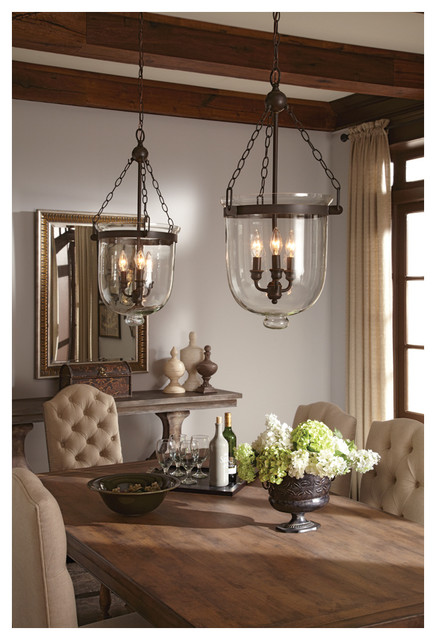 Lighting Rustic Dining Room atlanta by Remodelers  : rustic dining room from www.houzz.com size 436 x 640 jpeg 80kB