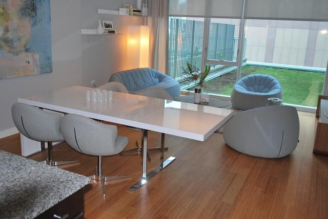 ligne roset model unit env chicago contemporary. Black Bedroom Furniture Sets. Home Design Ideas