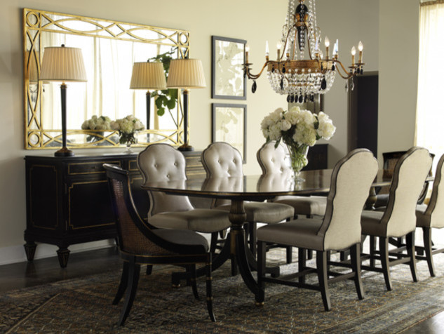 Lillian August Fine Furniture Wes dining