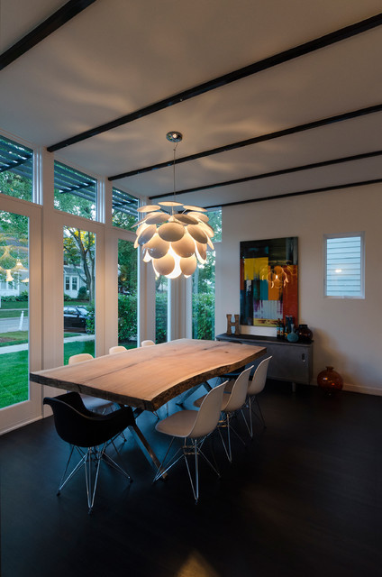 Lilly Chandelier by Lightology Collection contemporary-dining-room