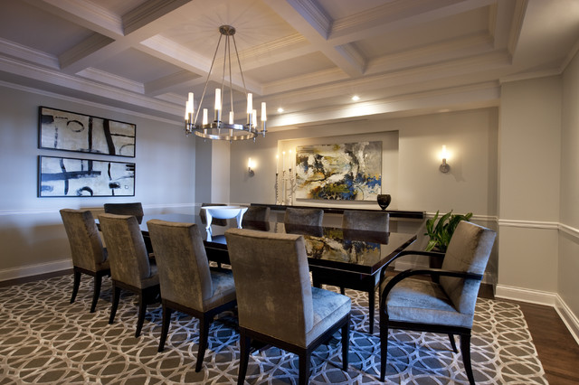 Lincoln Park West Dining Room contemporary-dining-room