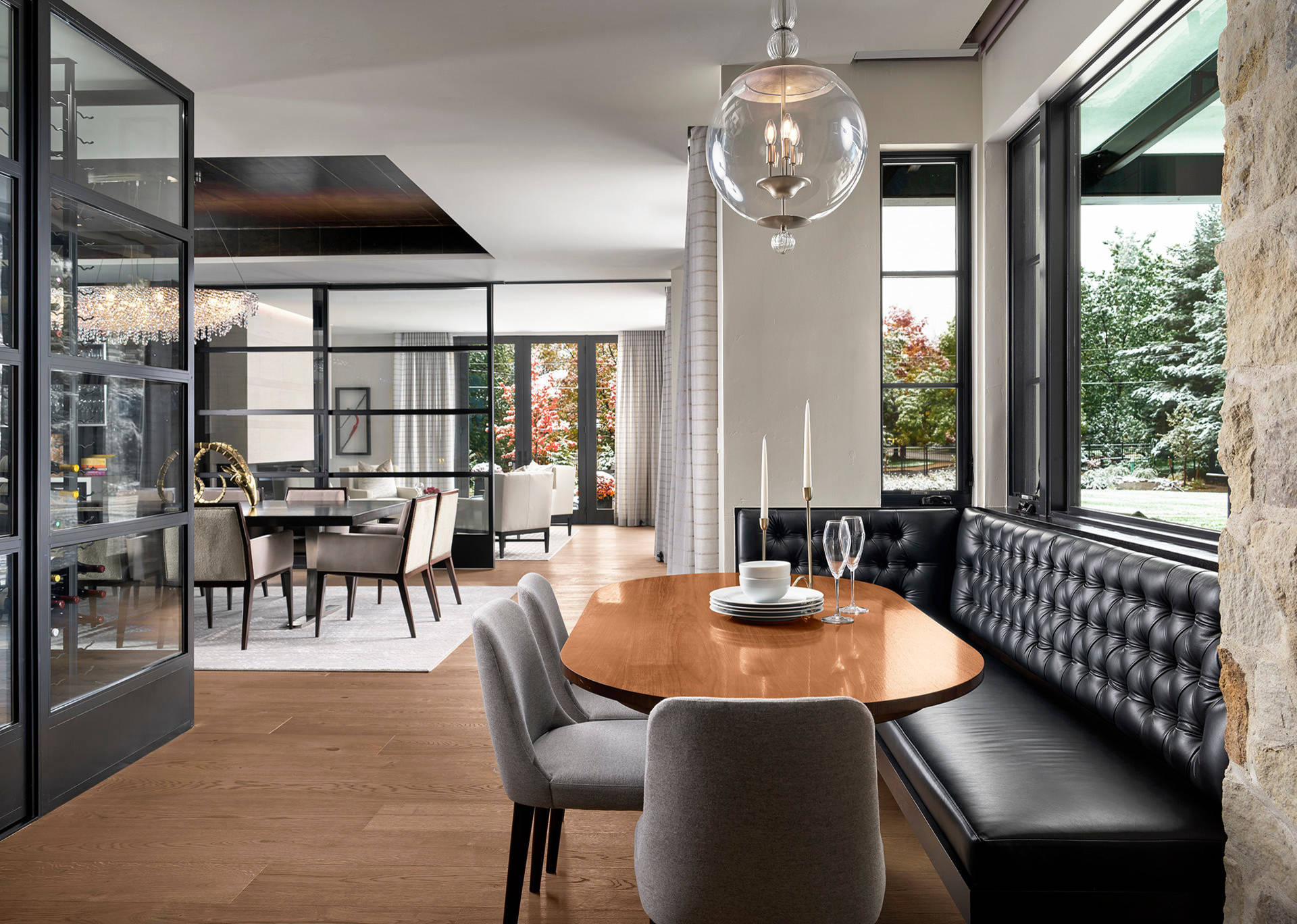 75 Beautiful Small Contemporary Dining Room Pictures Ideas February 2021 Houzz