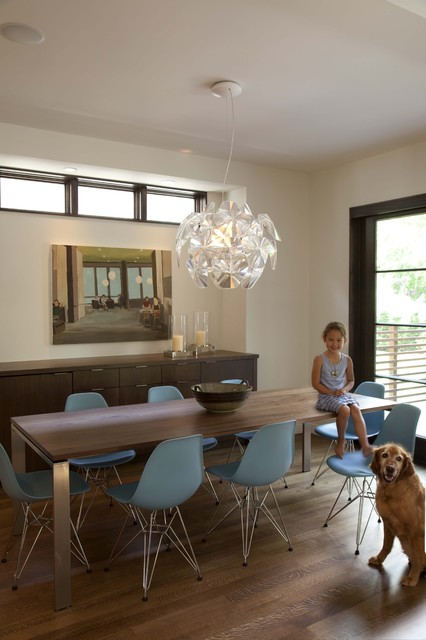 Linden Hills Contemporary Dining Room