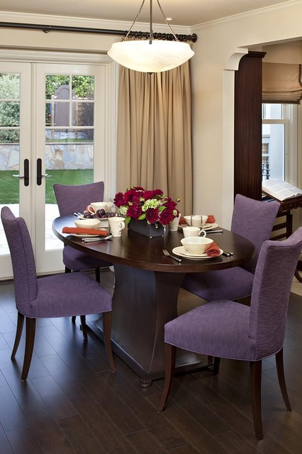 lindy donnelly traditional dining room san francisco by rh houzz com purple dining room set plum dining room chair covers