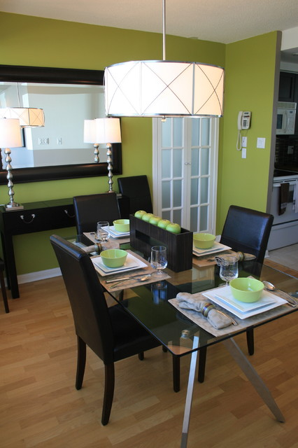 Lissee Interiors contemporary-dining-room