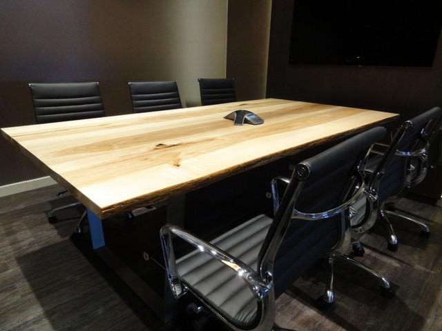 Live edge tables toronto ontario contemporary dining