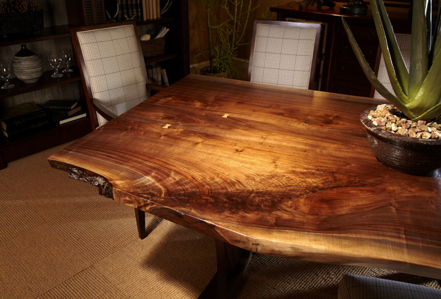 Live Edge Dining Tables Eclectic Room Toronto By Almira Fine Furniture