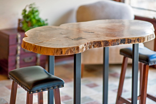 Live edge pub table stools in westerville oh