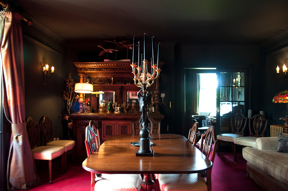 Photo of a traditional dining room in Glasgow.
