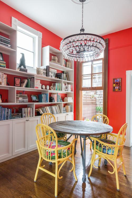 Eclectic Dining Room by San Francisco Interior Designers & Decorators Seldin Design Studios
