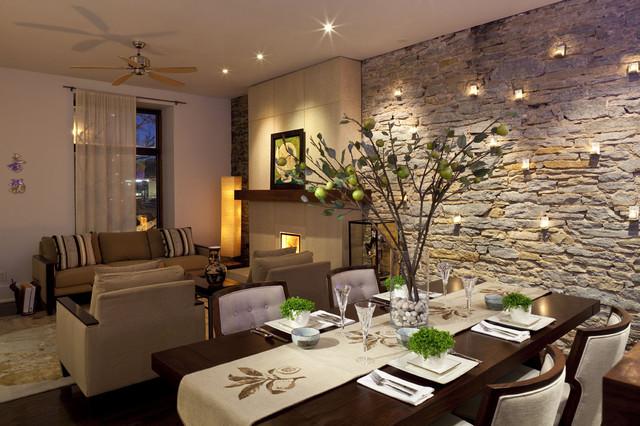 Living Room contemporary-dining-room