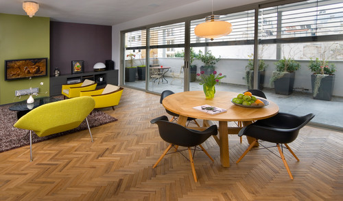 modern dining room Flooring Pattern Guide