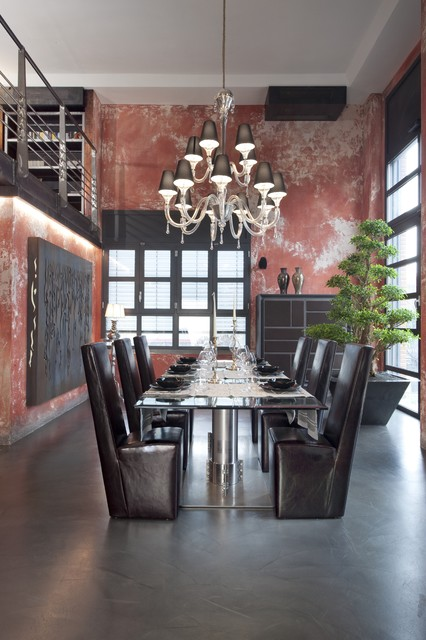 living room industrial-dining-room