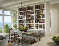 Living Room transitional-dining-room