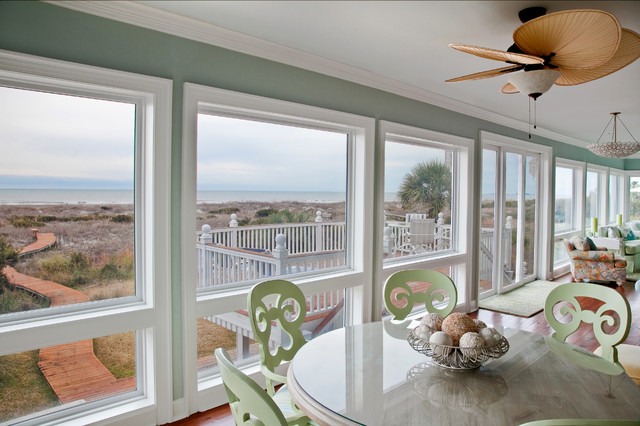 Interior Photography beach-style-dining-room