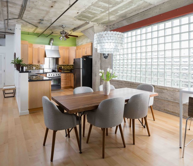 Loft Kitchen Industrial Dining Room San Francisco