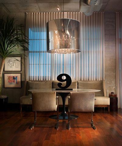Loft Residence contemporary-dining-room