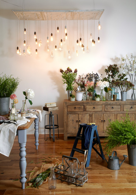 Loft Styling Creative Charm In Brooklyn Shabby Chic Style Dining Room