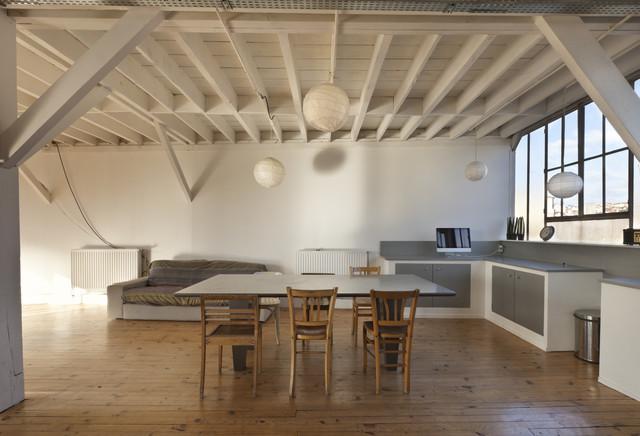 Lofts on 52 modern-dining-room