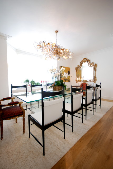 London House eclectic-dining-room