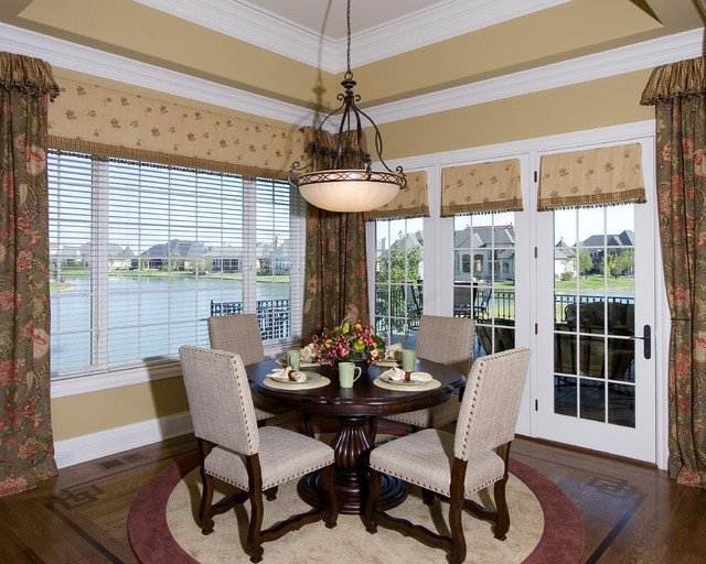 Long Cove Model Home traditional-dining-room
