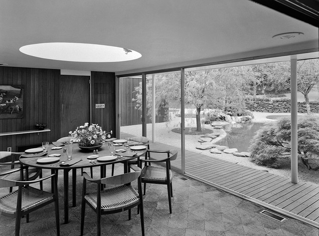 modern dining room Long Island Modernism 1930-1980