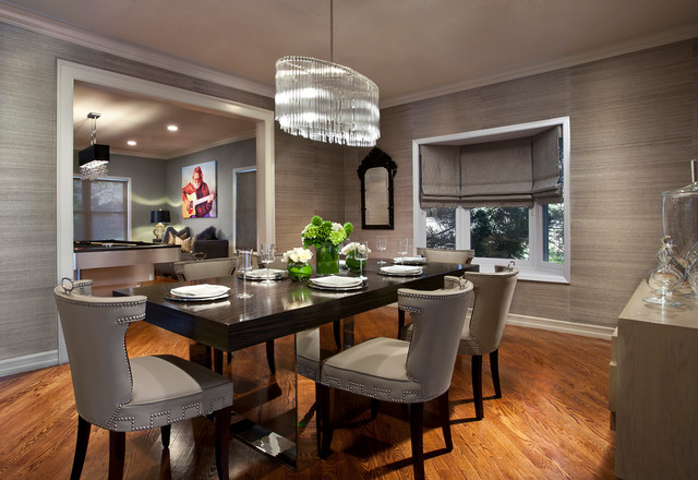 Long Island Residence Contemporary Dining Room New