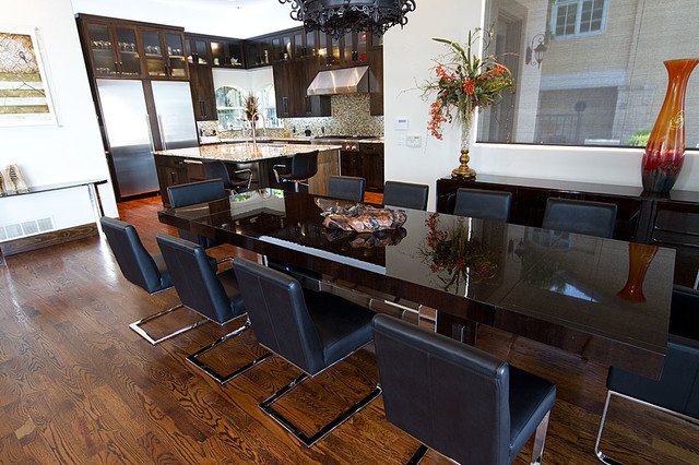 Lopez Project contemporary-dining-room