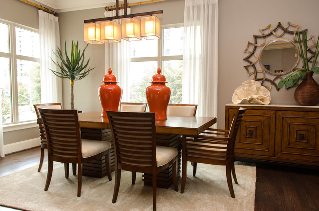 lorie amp jim s modern tropical ritz residence tropical 18 tropical dining room designs ideas design trends