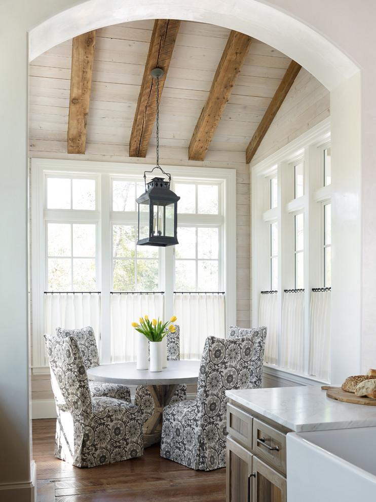 Inspiration for a coastal dining room remodel in Atlanta
