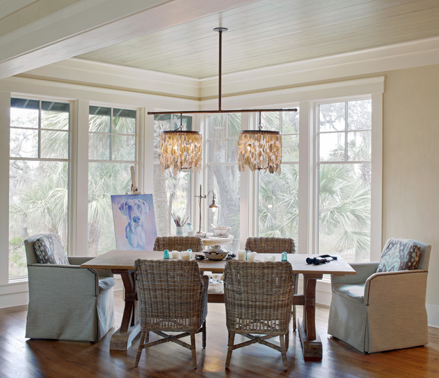 Low Country Tree House Beach Style Dining Room Charleston By