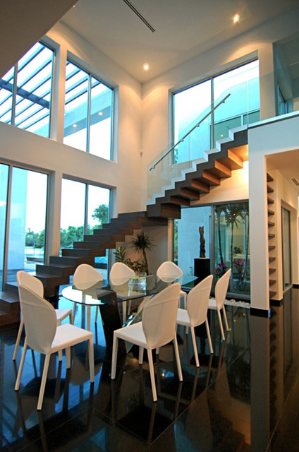 LuHer House contemporary-dining-room