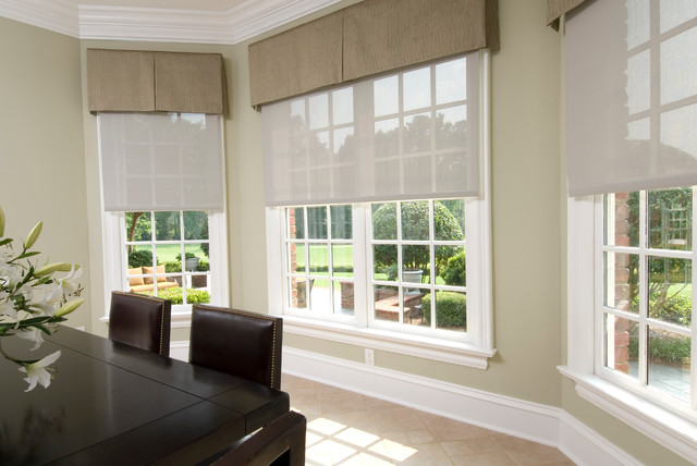 Lutron traditional-dining-room