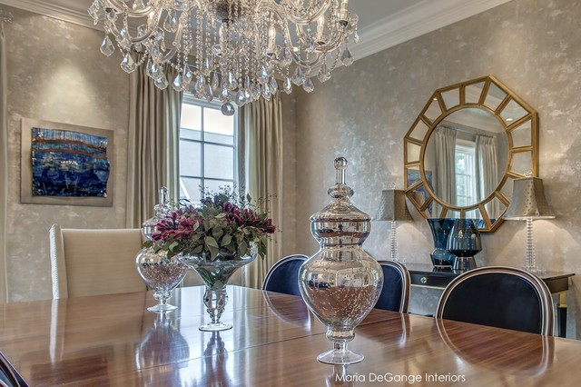 Luxury Dining Room - Traditional - Dining Room - st louis - by Maria DeGange
