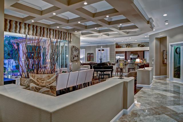 Luxury Estate Contemporary Dining Room Las Vegas By Room
