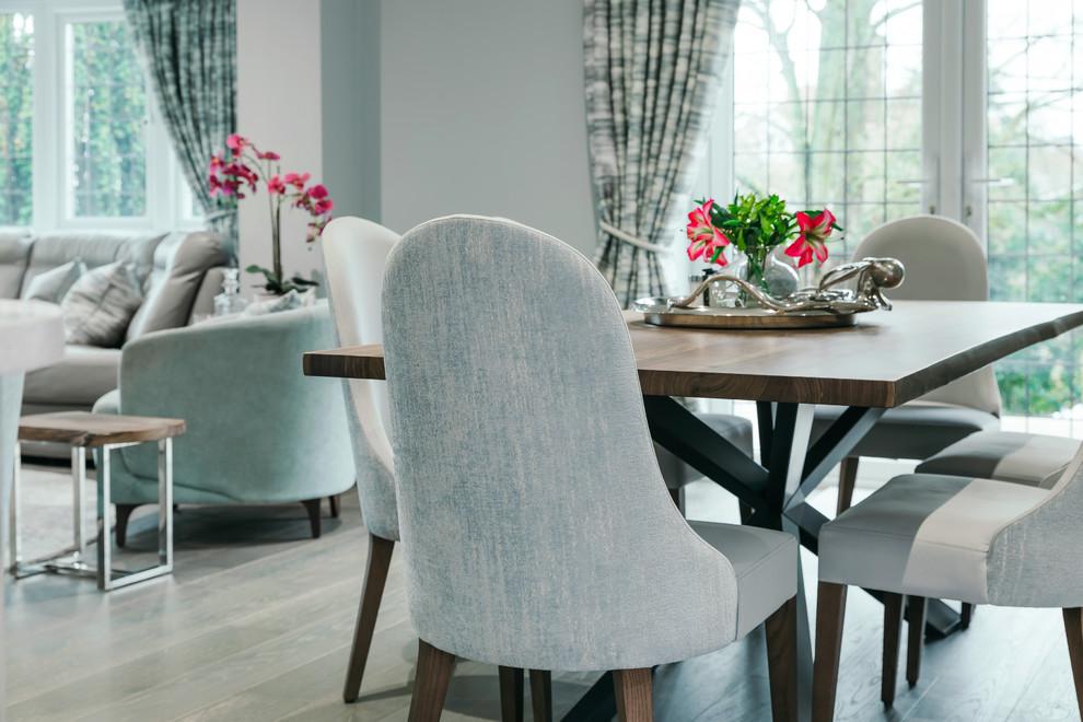 Contemporary Dining Room Es, Zimbroni Dining Room Set