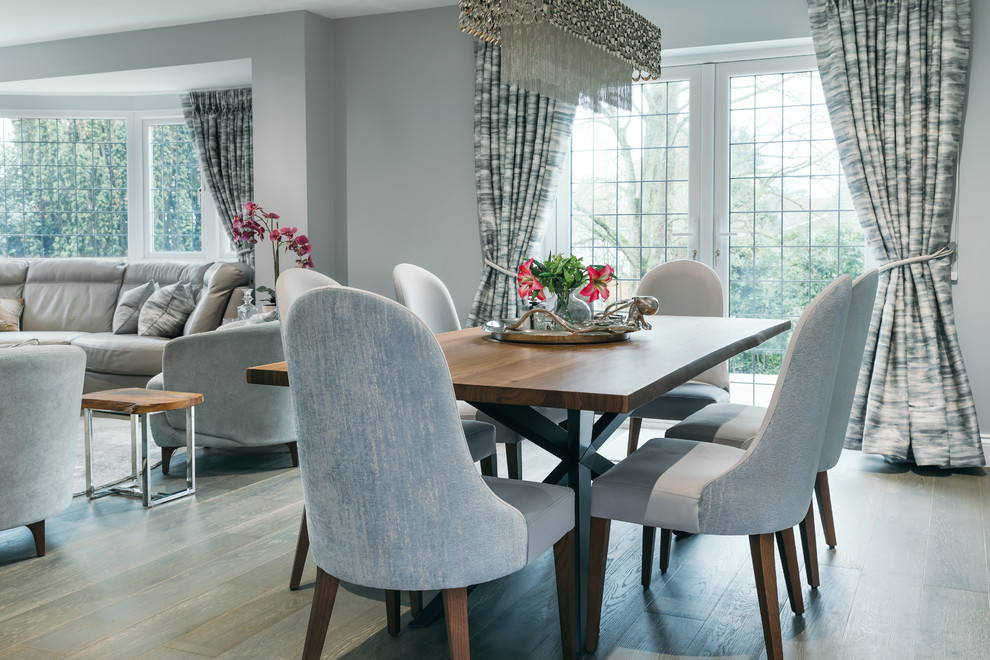Luxury Family Home Contemporary Dining Room Essex By Fishpools Furniture Store Interior Designers