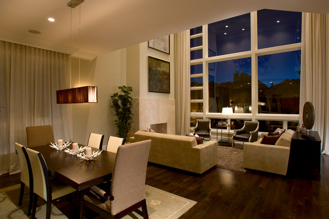 Luxury Home Tour Transitional Dining Room