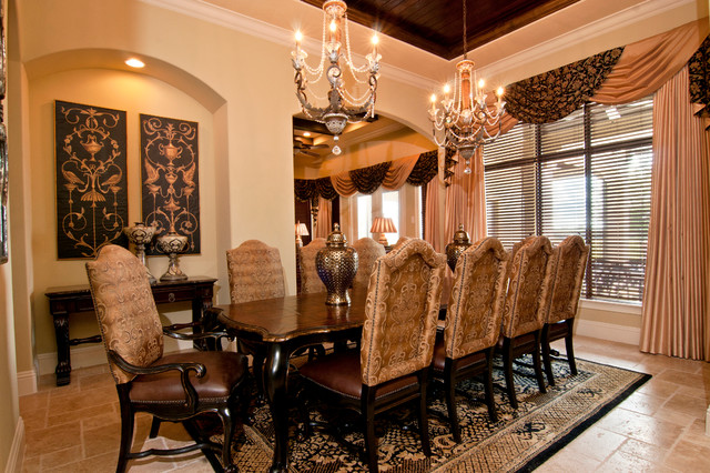 Luxury resort traditional dining room orlando by for Regency dining room