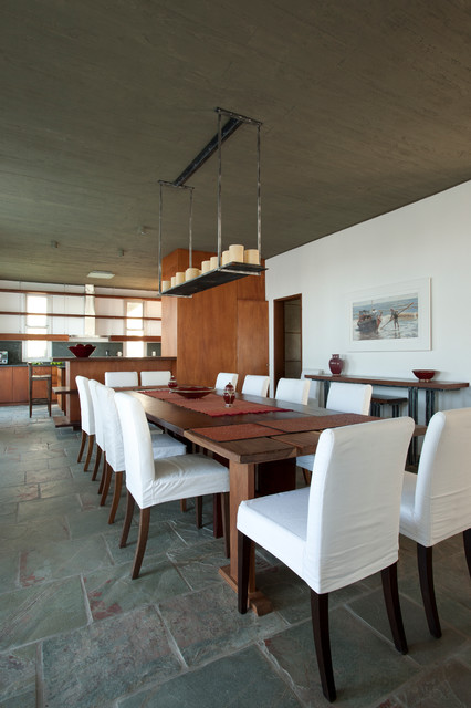 Luz Blanca contemporary-dining-room