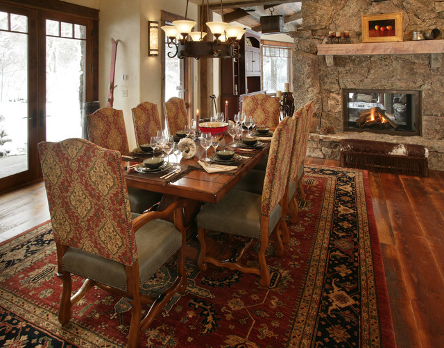 Lynne Barton Bier - Home on the Range eclectic-dining-room