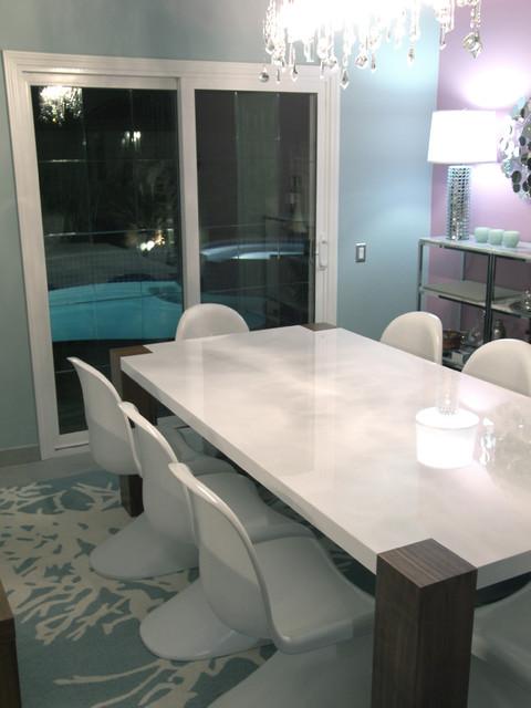 m.a.p. interiors modern-dining-room