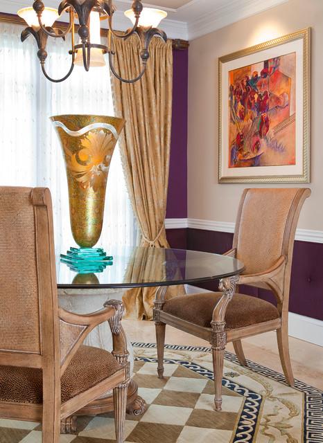 M residence classique salle manger autres for Decoria interior designs